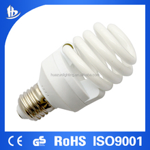 Best seller high quality 8000h 20w full spiral energy saving lamp/energy save lamp with normal shape