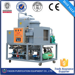 Best sales multi-function used oil recycling plant/machine recycle oil used cars
