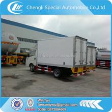 mini cargo van trucks,van box truck,small van truck