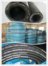 <Hydraulic Rubber Hose> /high temperature and high pressure spiral and braid natural rubber hose pipe