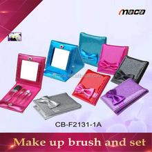 make up bag brush set travel bag set with trolley