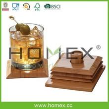 Fantastic bamboo placemats/cup pad/coaster/HOMEX-FSC,BSCI
