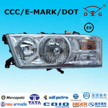 Replacement aftermarkt spare bus parts for toyota coaster head light