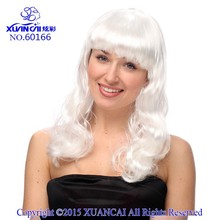 2015 Long curly beauty hair wigs in nice color main product fashion style and new design with cheap price synthetic