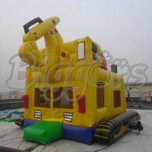 Truck Shape Giant Jumping Houses Inflatable Bouncers For Sale