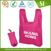 wholesale promotional shopping bag/hs codes nylon bag