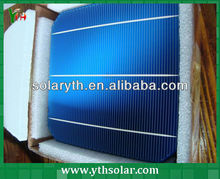High quality 3BB 156mm mono solar cells 6x6