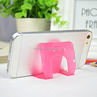 boomray factory own direct sales multipuprpose earphone wire winder and cell phone holder for desk