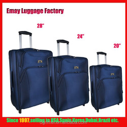 New Design Carry-on Casual EVA 1680D Polyester Trolley Luggage