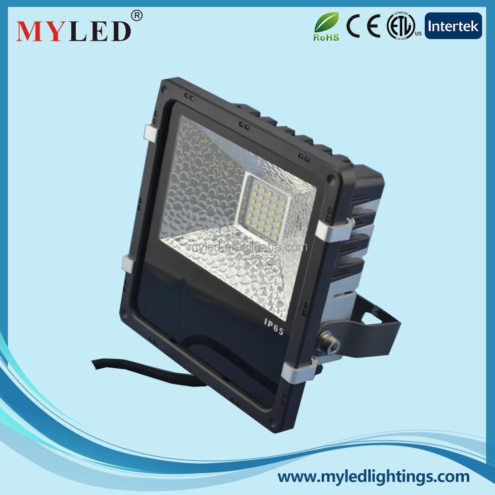 best selling led floodlight 30w outdoor slim led flood light from