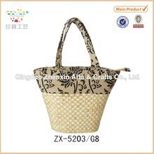 ZHENXIN handmade women Corn Straw Beach Bag