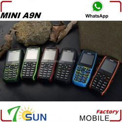 A9N chinese dual sim card mini mobile phone