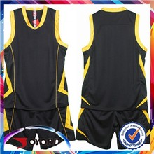 big size with dry fit fabric of basketball custom jerseys