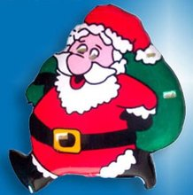 Christmas LED Flashing Pins