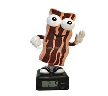 Custom mini alarm clock for decoration,Custom plastic running alarm clock,Custom sound alarm clock factory