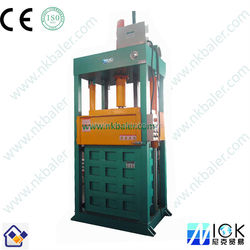 Second-hand cloth bundling compactor and Second-hand cloth bundling packing machine