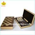 деревянные магнитного шахматная доска