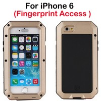 Wholesale Direct from China 4.7 inch custom cell phone case Metal Aluminum for iPhone 6 , custom cell phone case