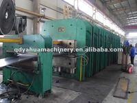 Hydraulic rubber hot plate vulcanizing press