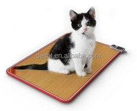 New design electric carbon crystal heating cat warm floor mat