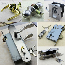 hotel security safe stainless steel combination mortise key cabinet door lock