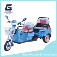 2 person electric cargo tricycle/ electric stand up scooter