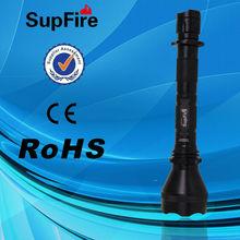 SupFire Y1 alto brillo y linterna recargable Maglite