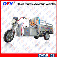 Liberating labor super shock absorber tricycle hydraulic electric