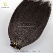 Best Price Good Feedback Best Quality No Shedding Full Cuticle Double Weft virgin hair brazilian afro curly