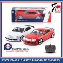 1 16 escala 4ch 27 mhz de alta velocidad modelo hy del coche del rc