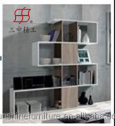 modern wooden large storage capacity home furniture type bookcase , bookshelf of China