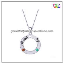 Circle Of Family Love Custom Made Pendant Necklace