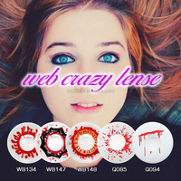 Bloody Mary Halloween Contact Lens Crazy 2015