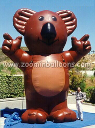 Good quality giant inflatable bear N2049
