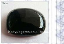 black glass crystal cubic zirconia any shape quartz