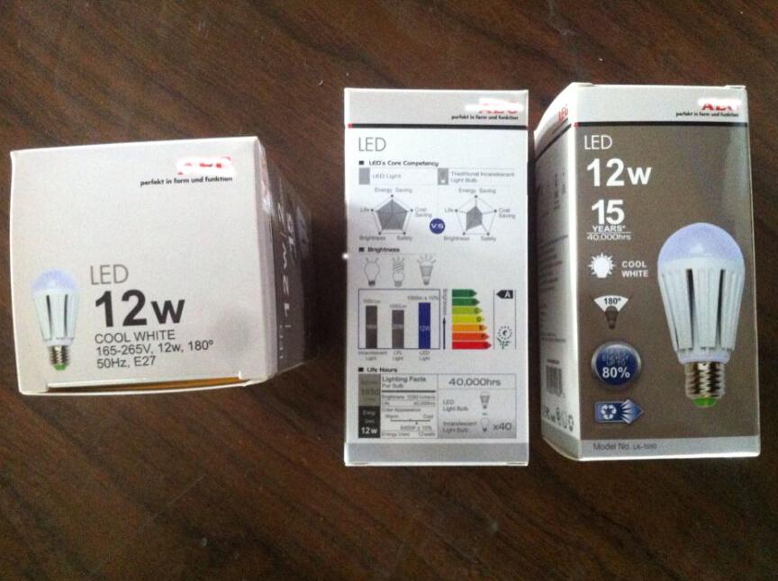2015 Professional Design Isolated Driver 12W E27 LED Bulb