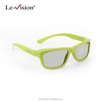 Silver Screen 3D Glasses for 4D,5D,6D,7D Cinema/DLP 3D Polarized Passive Glasses/Popular 3D Projector Glasses for XD Theatre