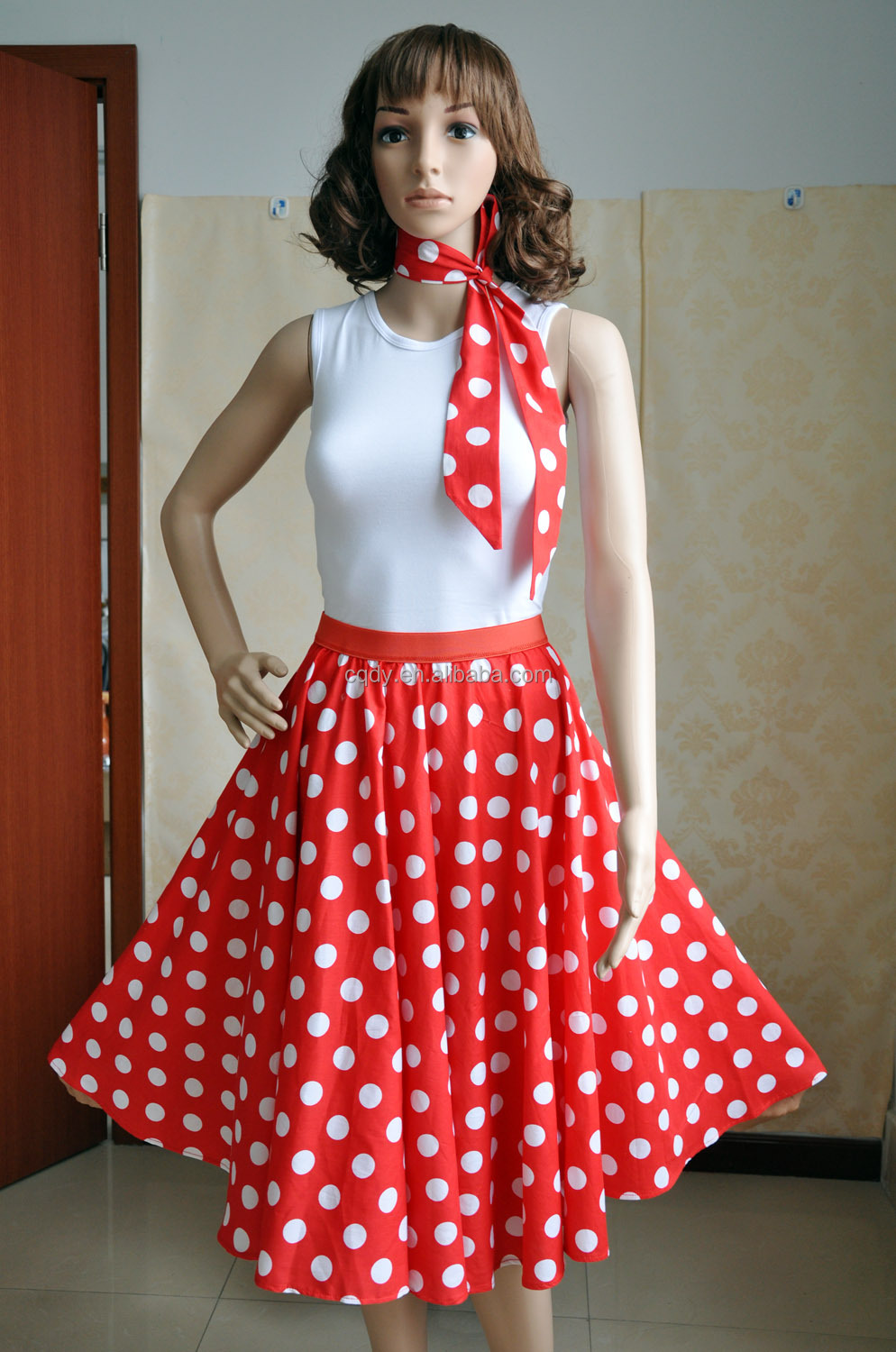 2015 Wholesale Supplier 50s 60s Style Rockabilly Retro Vintage Bridesmaid Wedding Party Dress ...