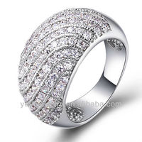 R296 2014 High quality engagement ring in 916 gold