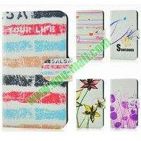 Beautiful Patterns Design Flip Leather Cover Case for Lenovo S90 T