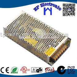 12v 10a non-waterproof power suply 12v 10a 120W led switching slim power supply