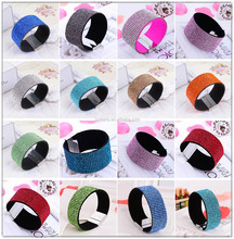 2015 new fashion magnetic crystals bracelet