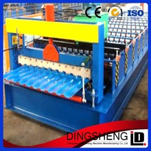 Corrugated roll forming machine in hot sale