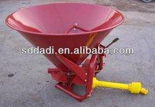 Agricultural atv fertilizer spreader