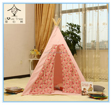 lovely tipi indian girl's pink play tent pet indoor house for sale