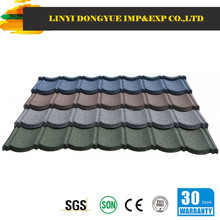 popular colorful stone coated metal roofing tile / metal corrugated tile roofing / Stone Chip Coated Metal Roof Tile sheet