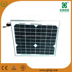 normal specification home application 10w solar panel
