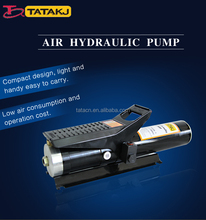 800cc air hydraulic operated high pressure pumps with oil pipe
