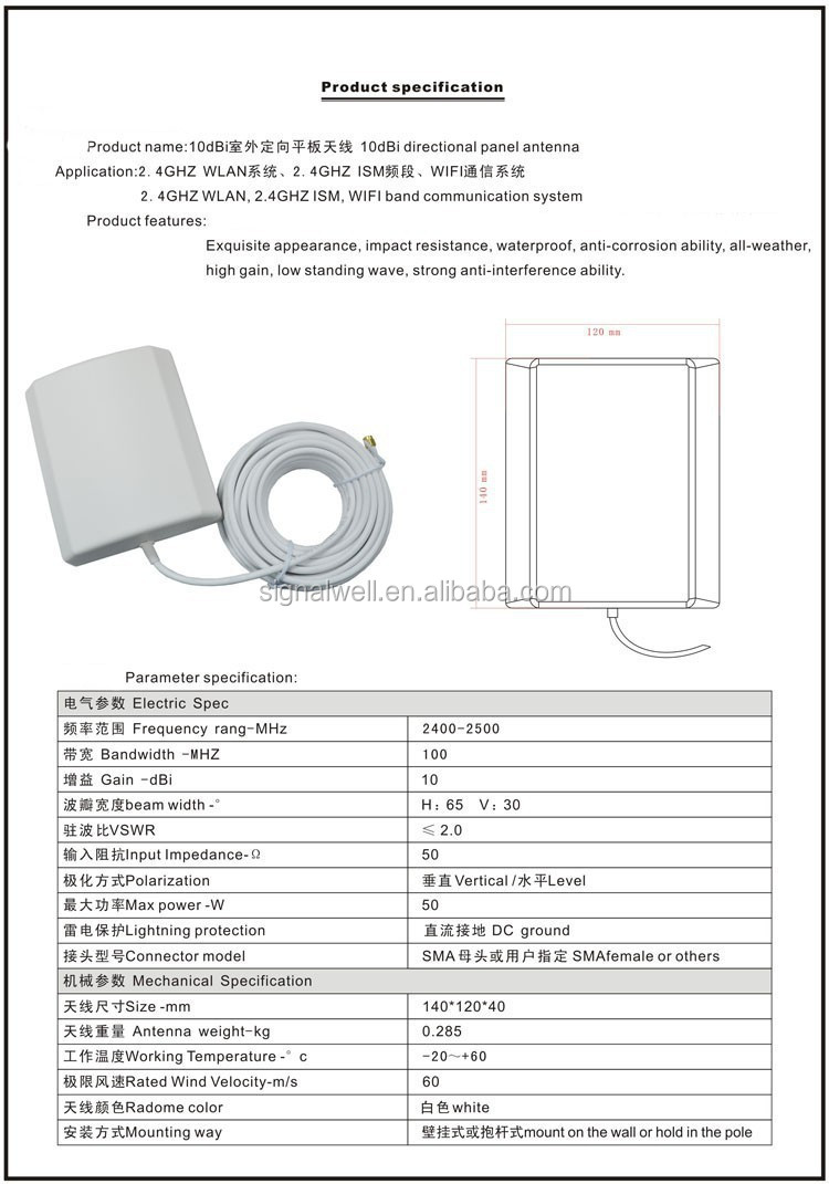 how to make a directional wifi antenna