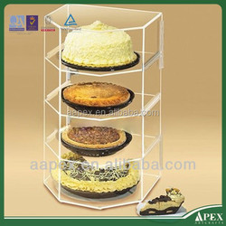 lighted acrylic cake stand Crystal Clear round 5 Tier Acrylic Cake Stand/Cupcake Wedding